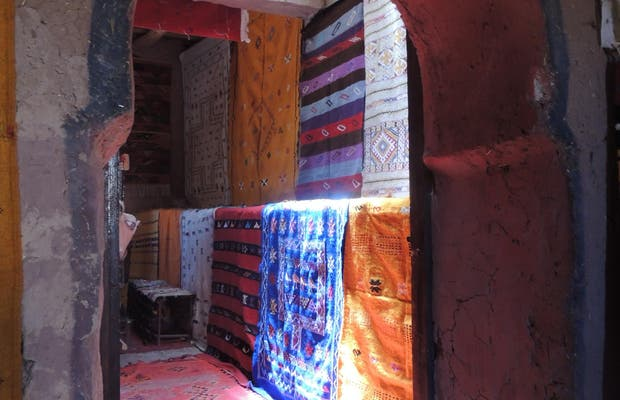 Cooperativa femenina de alfombras bereberes