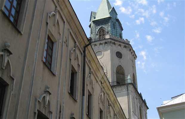 Campanile trinitario a Lublin in Polonia