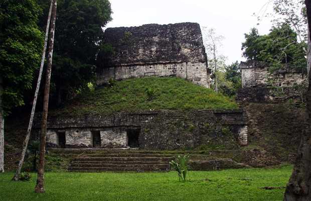 La plaza de los 7 templos