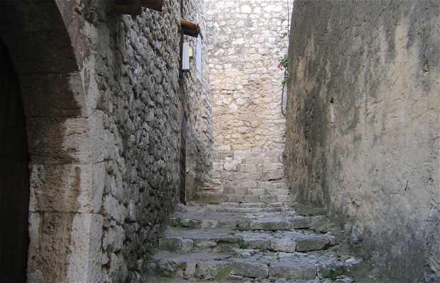 Le château de Saint Montan