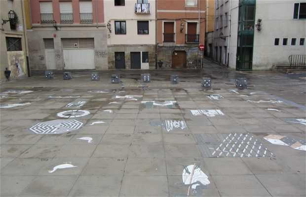 Plaza de Santiago - Plaza de la Oca