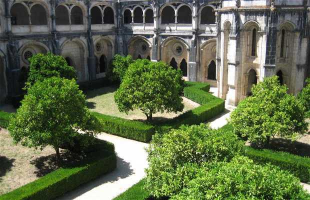 Claustro do Mosteiro de Santa Maria de Alcobaça