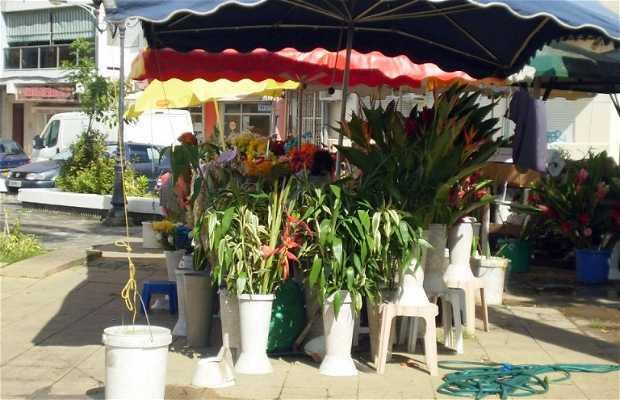 Il mercato dei fiori di Pointe-a-Pitre