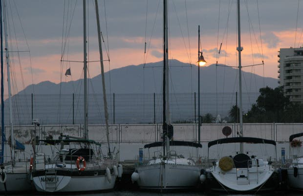 Puerto pesquero Marbella