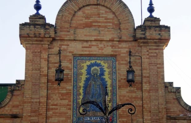 Piazza Virgen de las Mercedes a Huelva