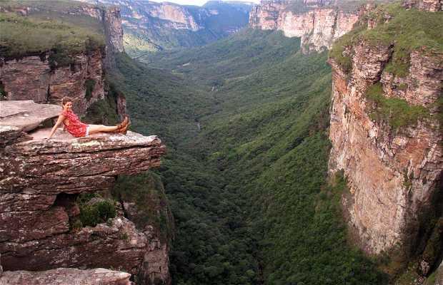 Trekking pelo Cachoeirão