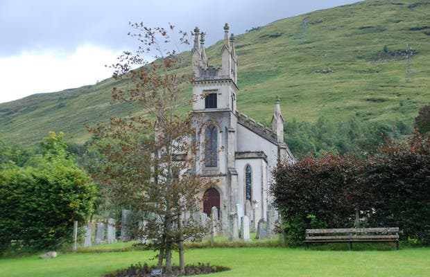 Iglesia parroquial de Arrochar
