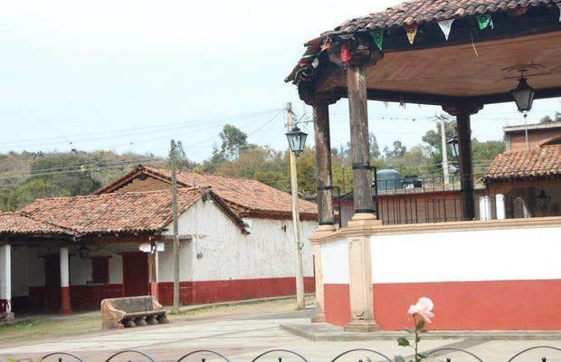 Plaza Central de Tupátaro
