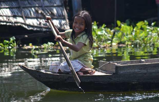 Village flottant Kompong Pluk