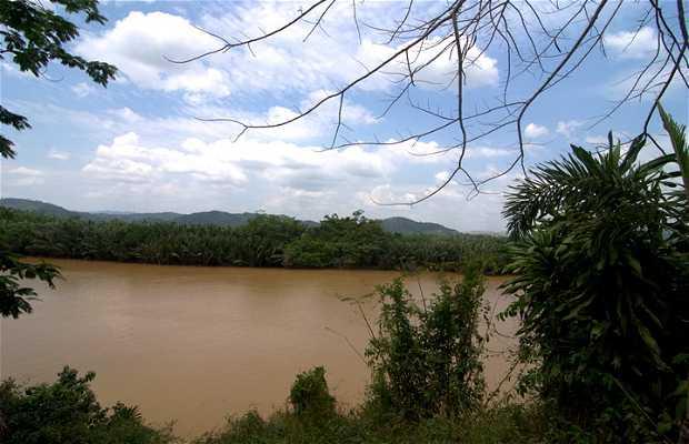 Fiume kraburi e confine birmano