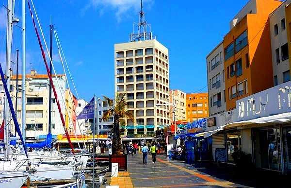 El puerto de Cap d'Agde