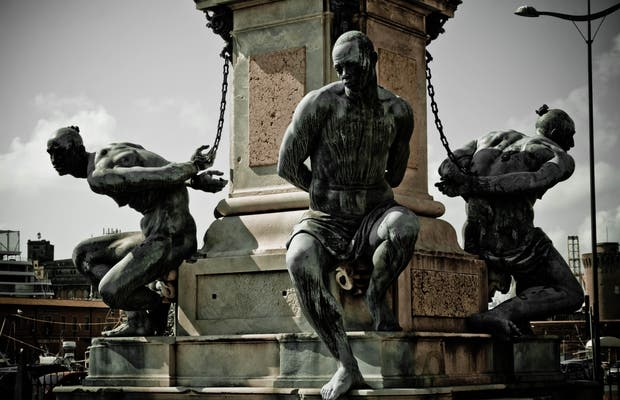 Statue Quattro Mori