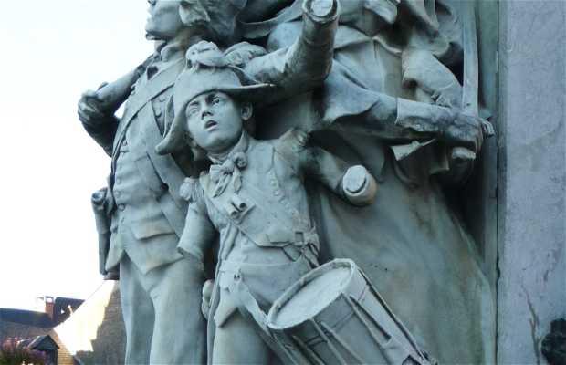 Monumento a la gloria de Danton