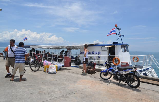 Trat Ferry to Koh Kood (Thailand)