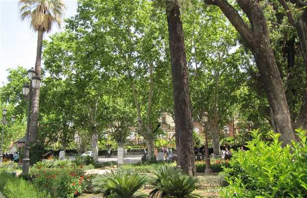 Jardines del Cristina y Paseo Vicente Aleixandre