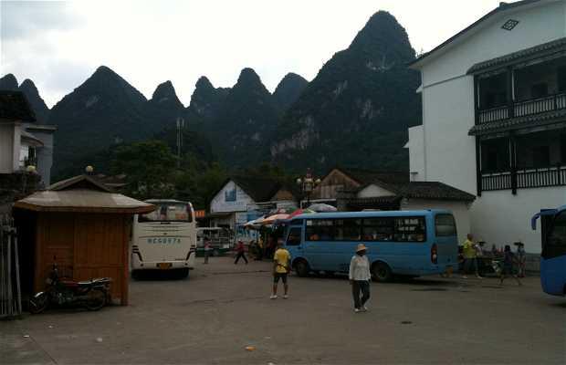 Estación de autobús de Xingping