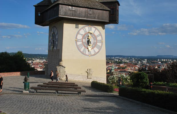 (Grazer Schloßberg) Clock Tower