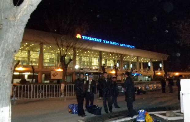 Aeropuerto Internacional de Tashkent (Toshkent Xalqaro Aeroporti)
