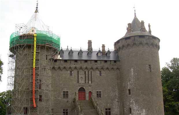 Castillo y jardines de Combourg