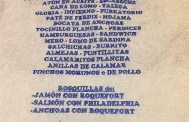 Cafe Manas Bar Los Jamones