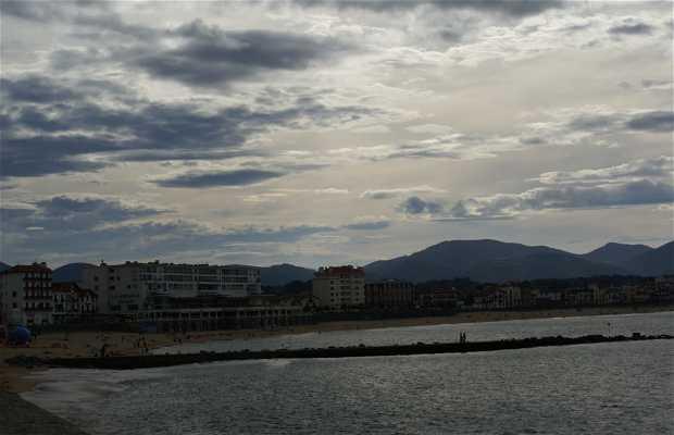 Passeggiata in spiaggia a Saint Jean de Luz