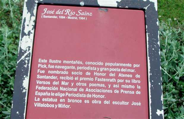 Monumento a José del Río Sainz