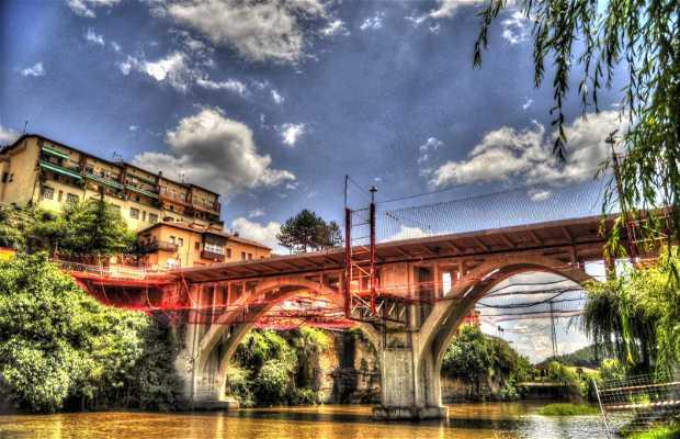Puente sobre el rio Ter