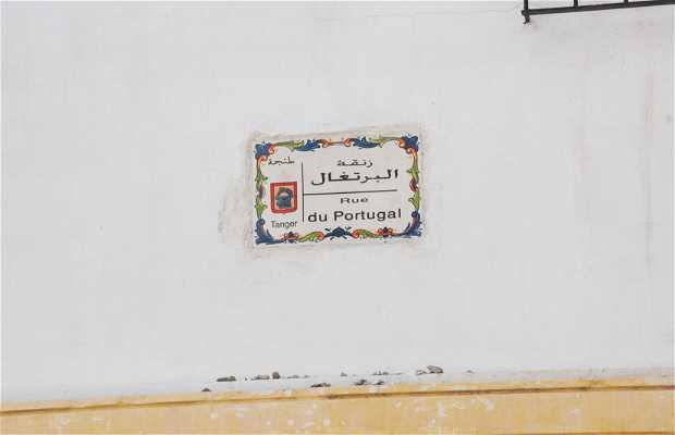 Rue du Portugal a Tangeri