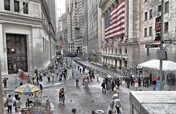 New York bourse des valeurs District financier