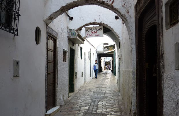 Acceso a la Medina y Zoco