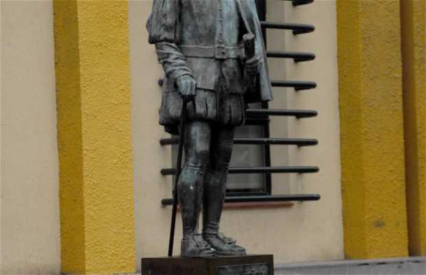 Estatua de Juan Muñoz