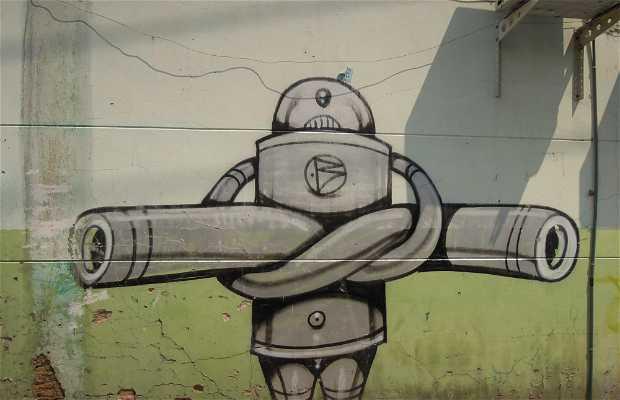 Street Art, centre touristique de Chiang Mai