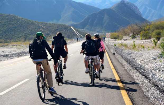Ruta en bicicleta a la Rompepicos