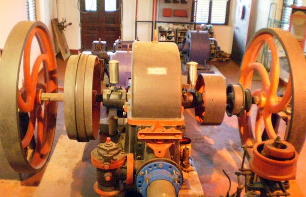 Turbina idraulica della Distilleria Depaz a Le Carbet