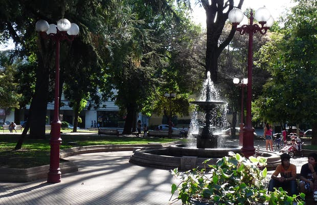 Chillan - Plaza de armas - Chile.