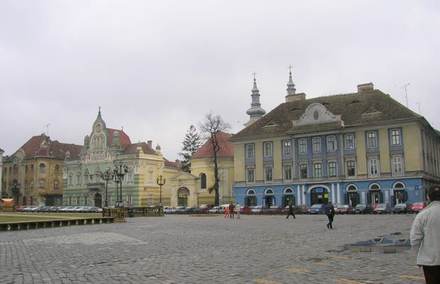 Piaţa Unirii - Unification square