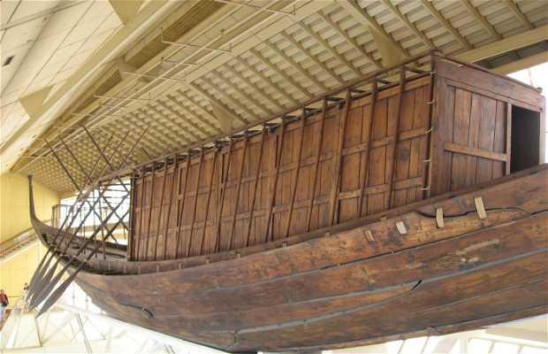 Barque funéraire de Khéops