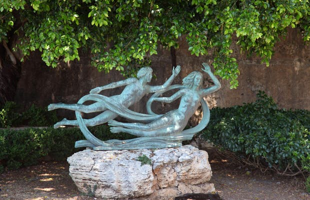 Estatua de Alfeo y Aretuse