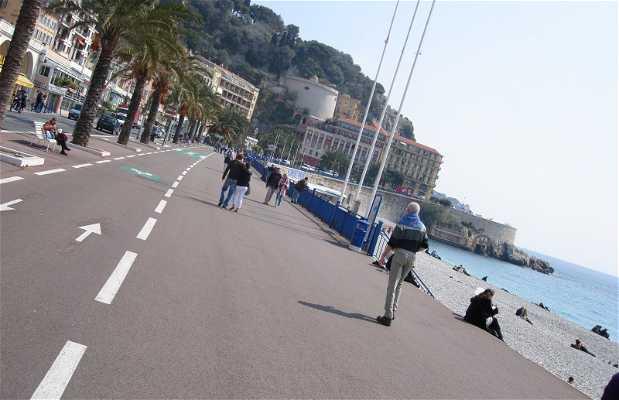 La spiaggia di Nizza