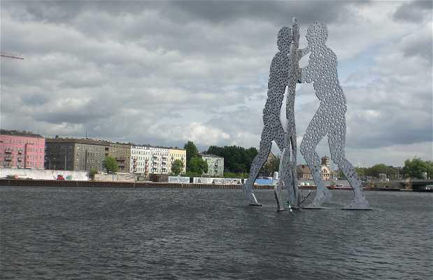 Molecule Man Sculpture