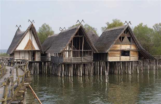 Sitios palafíticos prehistóricos en Unteruhldingen