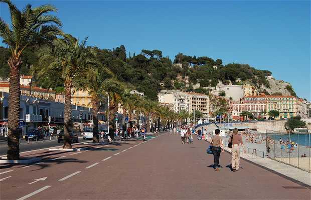 Promenade des Anglais a Nizza
