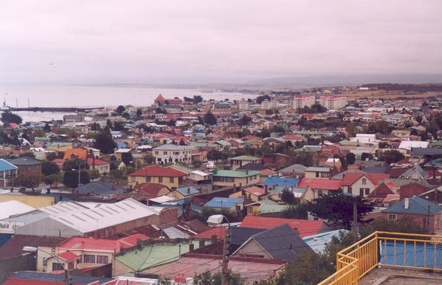 Les rues de Punta Arenas