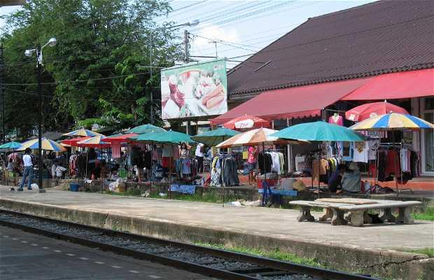 Mercadillo en Phitsanulok