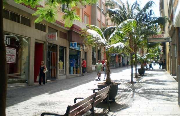 Calle Pérez Galdós