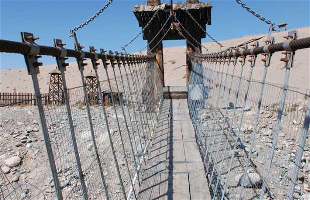 Puente colgante de Gobi