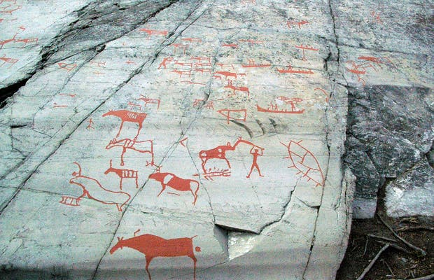 High Rock Engravings