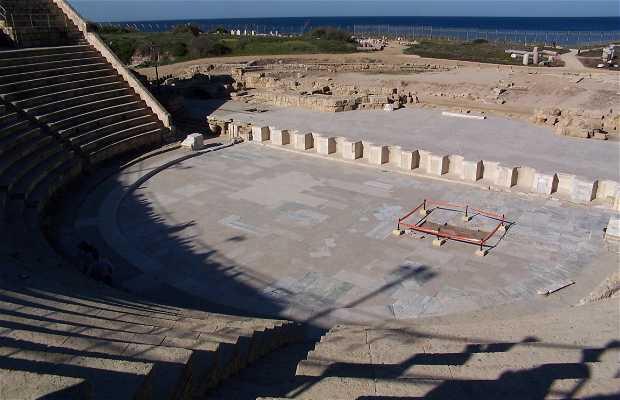 Caesarea Roman Theatre