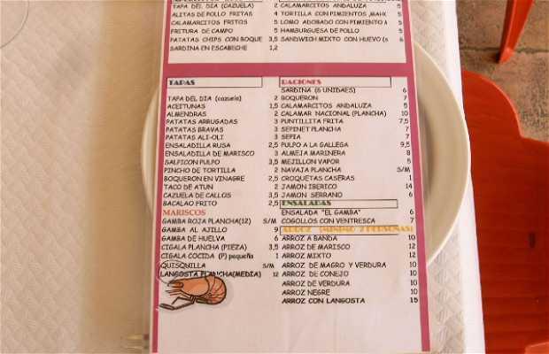 Restaurante El Gamba