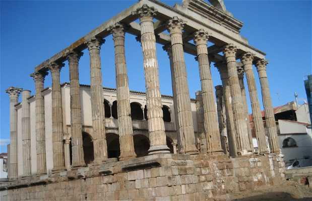 Templo de Diana de Mérida